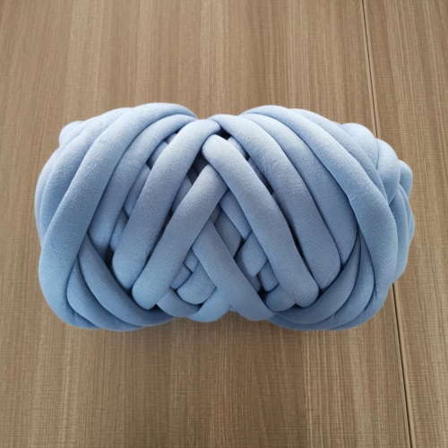 Chunky Cotton tube yarn hand Knitting super giant seamless polyester filling yarn
